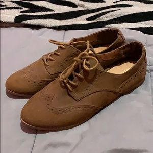 Mossimo Brown Oxford Shoes